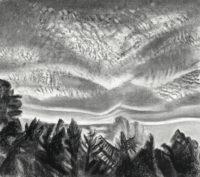 Mackerel Sky with Cumulus Clouds